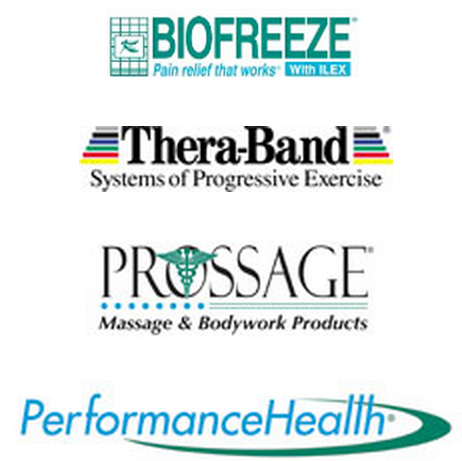 Performance Health, Inc. Biofreeze and Thera Band Products Logo